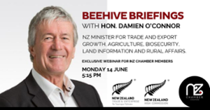 thumbnails Beehive Briefings with Hon. Damien O'Connor