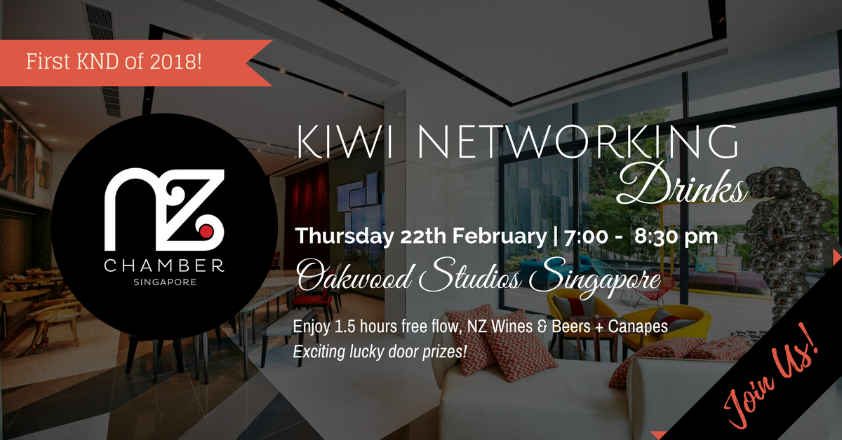 Kiwi Networking Drinks February 2018