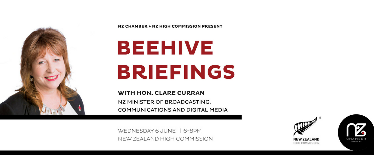 Beehive Briefings with Hon Clare Curran