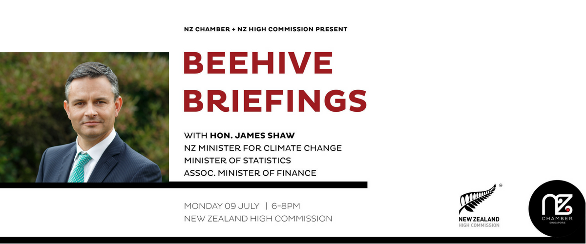 Beehive Briefings with Hon James Shaw