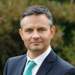Hon James Shaw (NZ Minister for Climate Change, Minister of Statistics, Assoc. Minister of Finance at New Zealand Government)